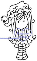 Digi stamps,Ava Christmas sitter,Bugaboo Stamps,