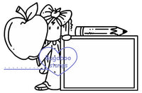Digi stamps,Ava school sign it,Bugaboo Stamps,