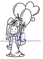 Digi stamps, Ava balloons,Bugaboo Stamps,