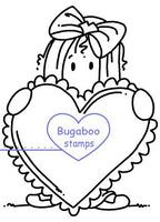 Digi stamps,Ava Heart,Bugaboo Stamps,