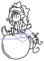 Digi stamps,Ava Ornament,Bugaboo Stamps,