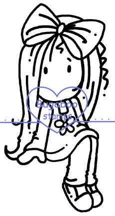 Digi stamps,Ava sitter,Bugaboo Stamps,
