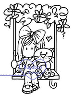 Digi stamps, Ava swing,Bugaboo Stamps,