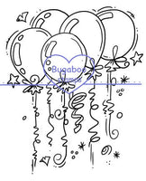 Digi Singles, Balloon bundle,Bugaboo Stamps,
