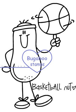 Digi Singles,Nuts About Sports - Basketball,Bugaboo Stamps,