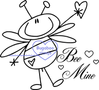 Digi stamps,Bees - Be Mine,Bugaboo Stamps,