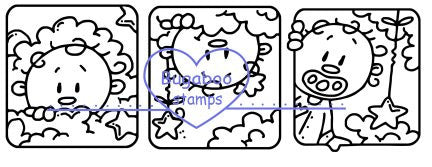 Digi stamps, Baby Benny Blocks,Bugaboo Stamps,