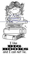 Digi stamps,Big Books Girl,Bugaboo Stamps,