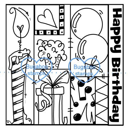 Word art/ Sentiments,Digi Singles,birthday quilt,Bugaboo Stamps,