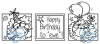 Digi Singles,birthday to ewe trio,Bugaboo Stamps,