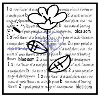 Word art/ Sentiments,Digi Singles,Blossom word block,Bugaboo Stamps,