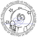 Boo to you Digi stamps, Images, clip art, coloring pages and illustrations from Bugaboo Stamps