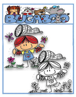 A Kids View butterfly image  Digi stamps, clip art, illustrations from Bugaboo Stamps