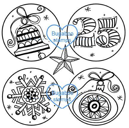 Digi stamps,Christmas Doodles,Bugaboo Stamps,