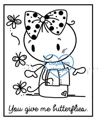 Word art/ Sentiments,Digi Singles,BUGFIG01 - frame it greetings butterflies,Bugaboo Stamps,