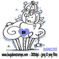 Digi Stamps,Halloween Cupcake 003,Bugaboo Stamps,