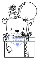 Digi Singles,BUGLITTLEBEARBDAY2  little bear birthday 2,Bugaboo Stamps,