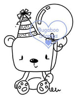 Digi Singles,BUGLITTLEBEARBDAY little bear birthday,Bugaboo Stamps,