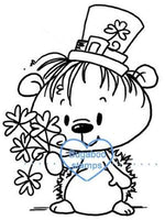 Digi stamps,march hedgie st. patricks day,Bugaboo Stamps,