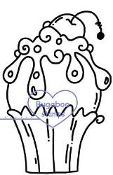 Digi stamps,cupcake cherry on top,Bugaboo Stamps,