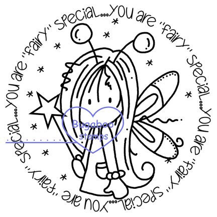 Digi stamps/word art,Ava Fairy special Tag,Bugaboo Stamps,