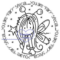 Digi stamps/word art, Ava Fairy special Tag,Bugaboo Stamps,