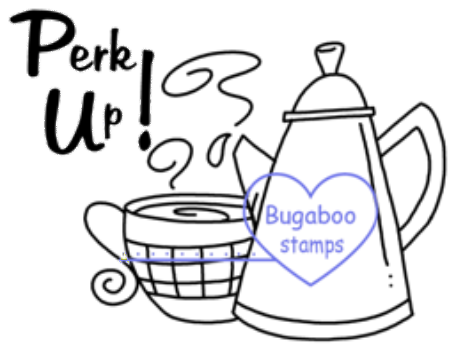 Digi Singles,Coffee Time - Perk Up,Bugaboo Stamps,