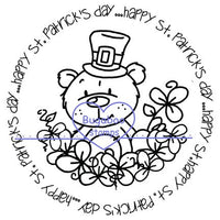 Word art/ Sentiments,Digi Singles,Circle Sentiments - St Patricks Theodore,Bugaboo Stamps,
