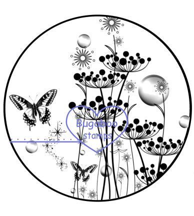 Digi Singles,*New for MARCH*, Dandelion Butterflies,Bugaboo Stamps,