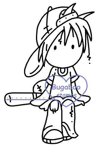 digi stamps,Deacon Baseball,Bugaboo Stamps,