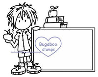 DIGI STAMPS, Deacon - school sign it,Bugaboo Stamps,