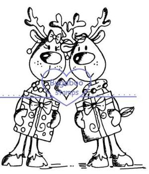 Digi stamps,Deer Duo,Bugaboo Stamps,