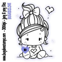 Digi Stamp Kidz Birthday Girl image from Bugaboo Stamps