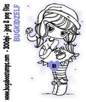 digi stamps,christmas elf,bugaboo stamps
