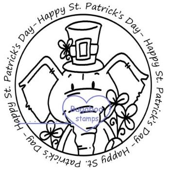 Digi Singles,Word art/ Sentiments,Edward Elephant -  Happy St. Patricks Day,Bugaboo Stamps,