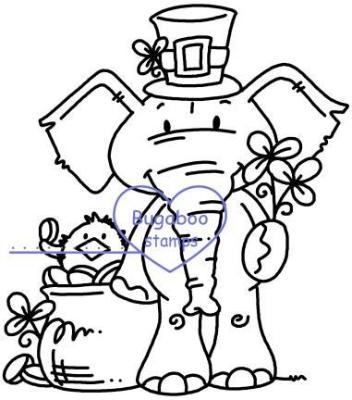 Digi stamps,Edward St. Patrick's Day,Bugaboo Stamps,