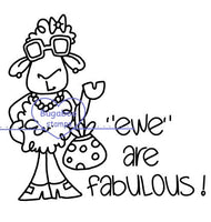 Digi Singles,Ewe are fabulous,Bugaboo Stamps,