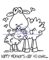 Digi Singles,Ewe - happy mothers day to ewe,Bugaboo Stamps,