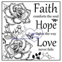 digi stamps,Beautiful blocks Faith,Bugaboo Stamps