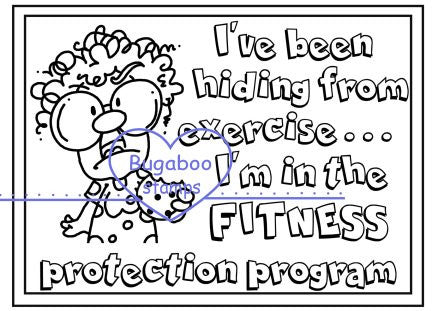 Digi Singles,Frame it - Gertrude - Fitness Protection,Bugaboo Stamps,