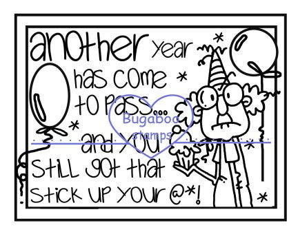 Digi stamps,Gus another year,Bugaboo Stamps,