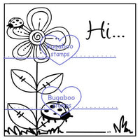 Digi stamps,Word art,Flower - Hi,Bugaboo Stamps,