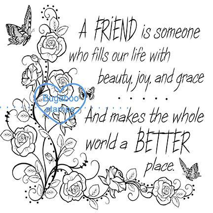 Word art/ Sentiments,Digi Singles,friendship roses,Bugaboo Stamps,