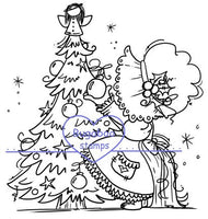 Digi stamps,Sunbonnet Christmas Tree,Bugaboo Stamps,