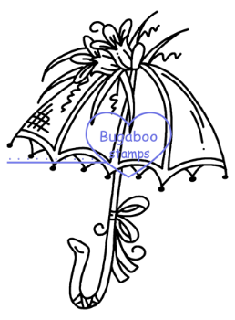 Digi stamps,Fancy Umbrella 7,Bugaboo Stamps,