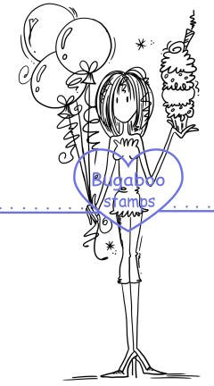Digi stamps,girlz celebrate,Bugaboo Stamps,