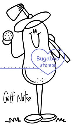 Digi Singles,Nuts About Sports - golf,Bugaboo Stamps,