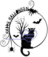 Digi stamps,Happy Halloween Cat,Bugaboo Stamps,