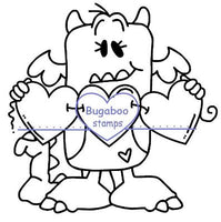 Digi stamps,Heart Monster,Bugaboo Stamps,