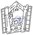 Digi stamps,Halloween Window Cat,Bugaboo Stamps,